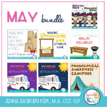 MAY Speech and Language Super BUNDLE