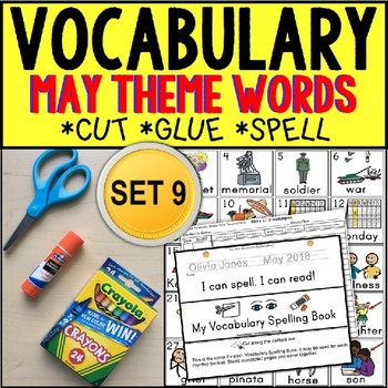 Where Vocabulary Of Autism Is Failing >> May Vocabulary And Fine Motor Monthly Worksheets For Special Education Autism