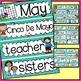 Word Wall and Tracing: May (Spring, Handwriting, Vocabulary)