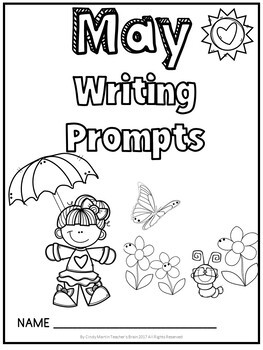 MAY Writing Prompts Journal K-3