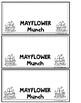 MAYFLOWER MUNCH!- A PILGRIM TREAT ACTIVITY/PRINTABLE
