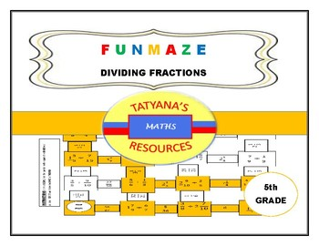 MAZE - Dividing Fractions