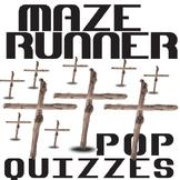 THE MAZE RUNNER 28 Pop Quizzes Bundle
