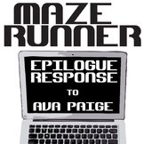 THE MAZE RUNNER Epilogue Response Activity