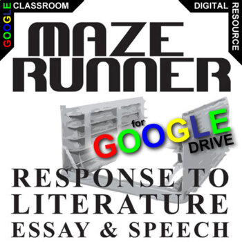 MAZE RUNNER Essay Prompts and Speech (Created for Digital)