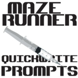 THE MAZE RUNNER Journal - Quickwrite Writing Prompts