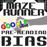 MAZE RUNNER PreReading Bias Activity (Created for Digital)