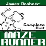 THE MAZE RUNNER Unit Plan - Novel Study Bundle (Dashner) -