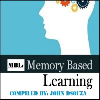 MBL: MEMORY-BASED LEARNING