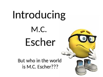 MC Escher Google Slides Lesson Updated Version