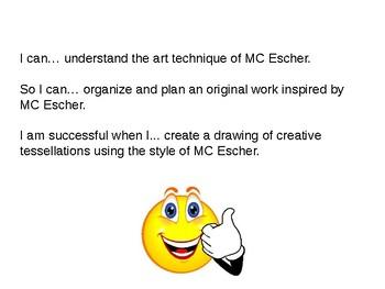 MC Escher Power Point Lesson