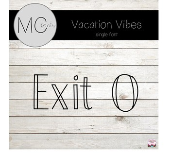 MC Fonts - Exit 0