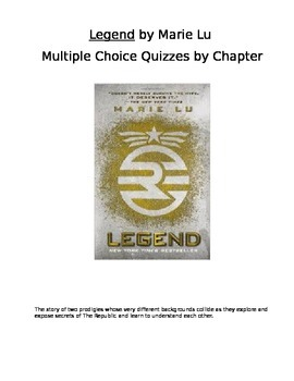 Legend by Marie Lu Quizzes for Every Chapter