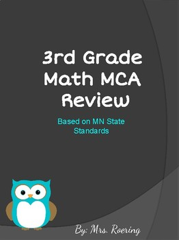 MCA Math Review