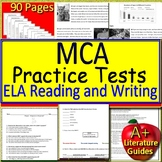 MCA Test Prep Reading Practice Tests, Passages, MCA Questions, + Writing Prompts