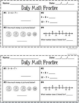 MCAP Practice 200 for 2nd Grade!