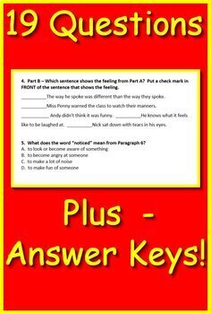 MCAP Reading and Math Sample Freebie: Passages, Questions, Math Problems