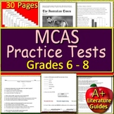 MCAS ELA Test Prep - Reading Passages, MCAS Questions, and All Answer Keys