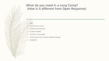 Long Composition 5 Paragaph Essay
