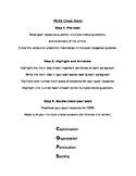 MCAS / Standardized Test Cheat Sheet