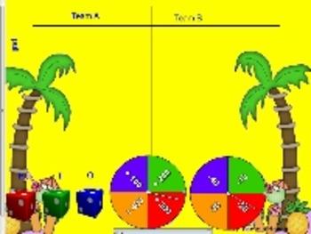 Second Grade Math MCC2.NBT.8 Practice game-SmartBoard