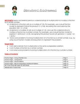 MCC.4.NF.4 - Multiplying Fractions Units Bundle