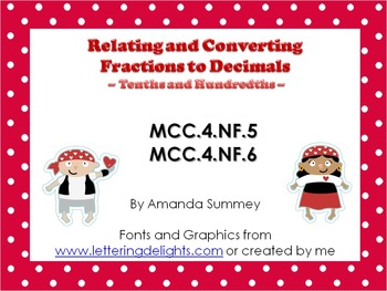 MCC.4.NF5-6: Relating and Converting Fractions and Decimals