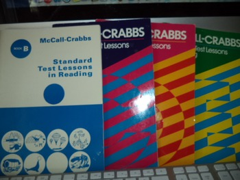 MCCALL CRABBS B C D E TEST LESSONS    (SET OF 4)
