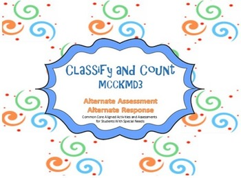 MCCKMD3 Classify and Count Smart Board Lessons and Practice