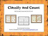 MCCK.MD.3 & MCCK.CC.4-5: Kindergarten Classify and Count F