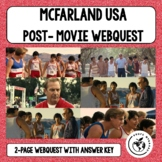 MCFARLAND USA POST-MOVIE WEBQUEST