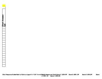 MCGRAW HILL WONDERS PROGRESS MONITORING SHEET UNIT 2
