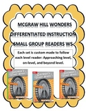 MCGRAW HILL WONDERS Unit 1, Week 4 Gr. 4 Small Group Reade