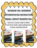MCGRAW HILL WONDERS Unit 2, Week 3 Gr. 4 Small Group Reader Worksheets
