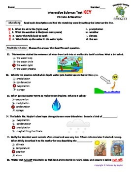 MCSB – 3rd Grade Interactive Science (Study Guide/Test Combo Ch  10-Lesson  1-3)