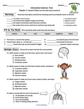MCSB – 3rd Grade Interactive Science (Study Guide/Test Combo Ch. 7-Lesson 3)