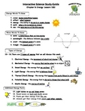MCSB – 3rd Grade Interactive Science (Study Guide/Test Combo Ch.3 - Lesson 1&2)