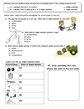 MCSB – 3rd Grade Interactive Science (Study Guide/Test Combo Ch.4 - Lesson 2&3)