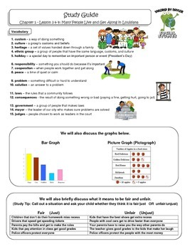 MCSB – Harcourt 3rd Grade Social Studies: Ch.1 - Lesson 3&