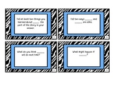 MClass Comprehension Stem Cards