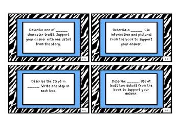 MClass Comprehension Stem Cards