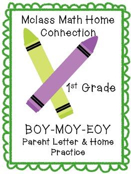 MClass Math Parent Data Letters