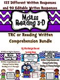 MClass Reading 3D TRC Written Comprehension Bundle
