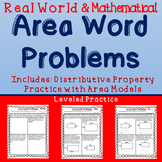 MD.7: Area Word Problems and Distributive Property