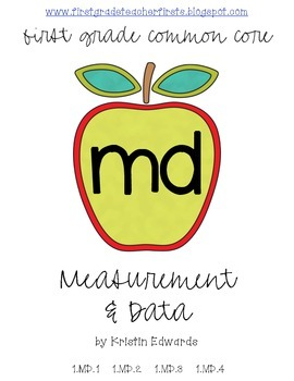 MD: Measurement and Data // First Grade Common Core Math