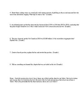 MDM4U - Collection of Data Test (5)