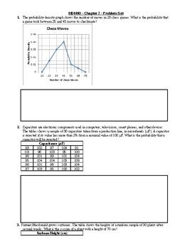MDM4U - Continuous Random Variables Assignment (7)