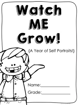 ME Booklet {featuring a self portrait every month!}