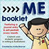 ME Booklet {monthly self portraits and journal entries}