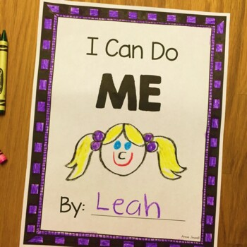 ME - Draw and Write About Me - Kindergarten and Pre-K